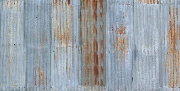 Oude metalen plaat dak textuur. patroon van oude metalen plaat.