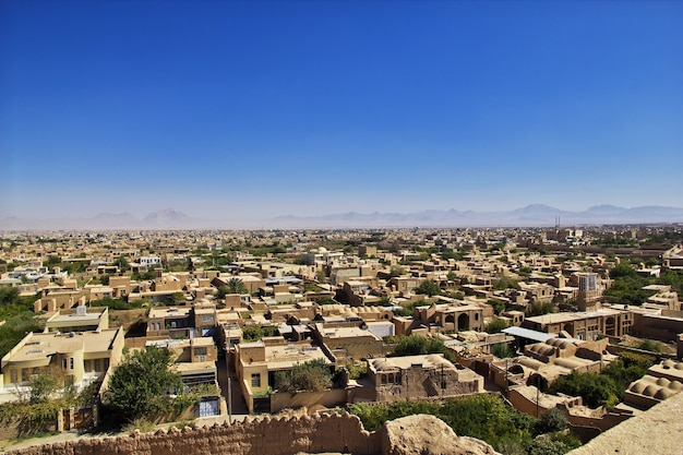Oude meybod-citadel in iran