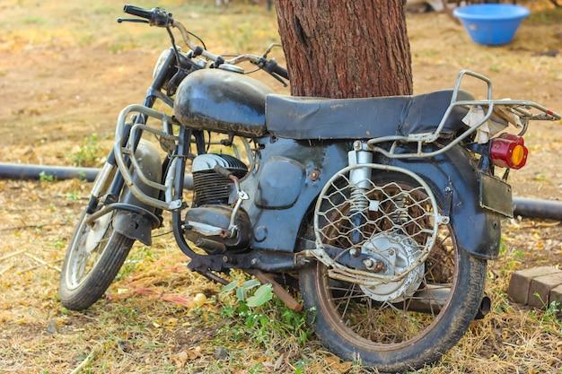 Oude motor fiets
