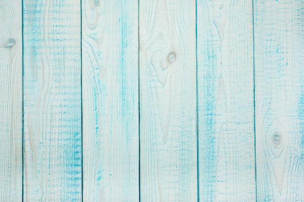 Oude natuurlijke turquoise houten shabby achtergrond