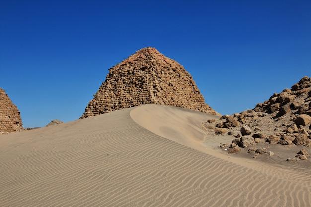 Oude piramides van nuri, soedan