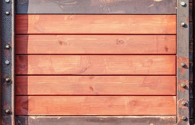 Oude planked houten achtergrondstructuur