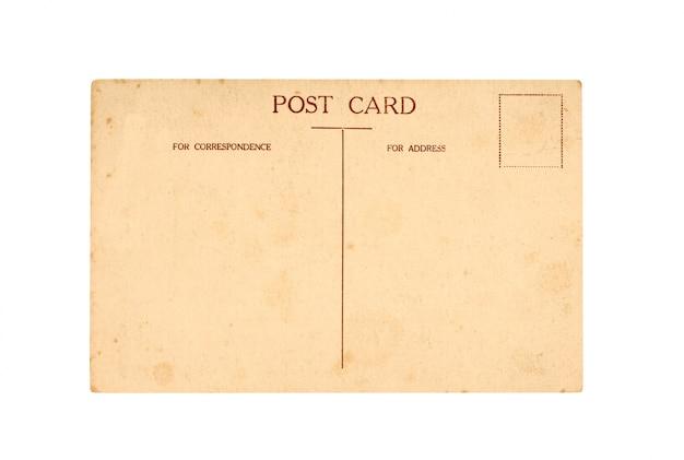 Oude post kaart