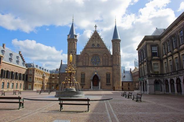 Oude ridderzaal ridderzaal, den haag, nederland