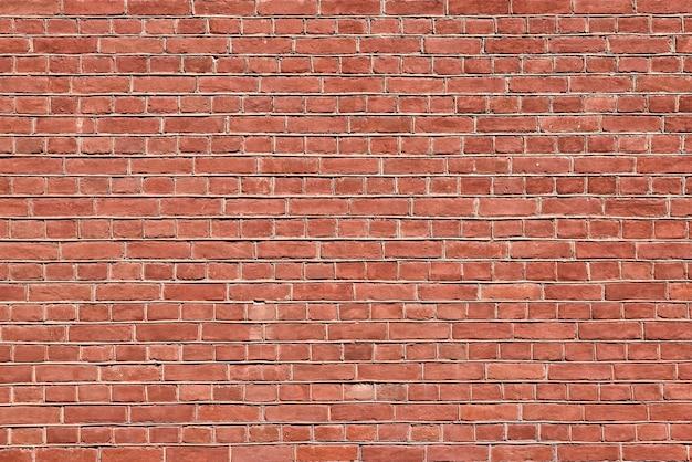 Oude rode bakstenen muur achtergrond