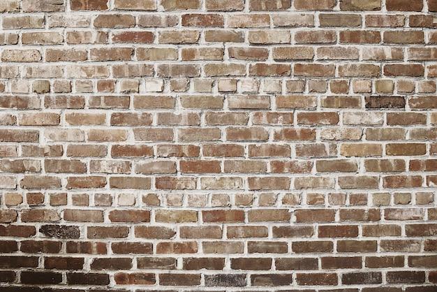 Oude rode bakstenen muurtextuur als achtergrond