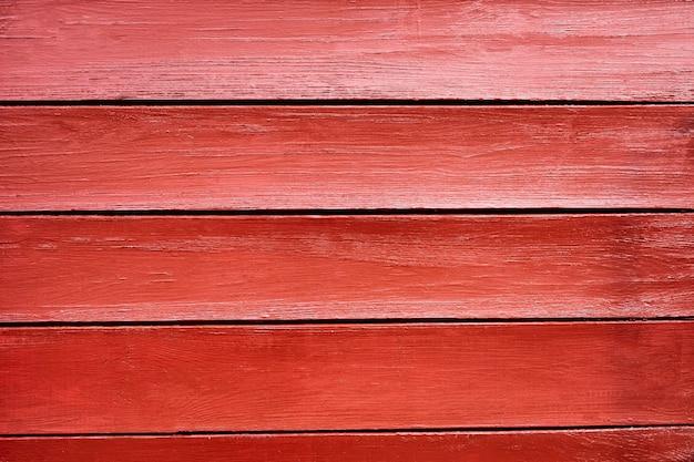 Oude, rode vintage horizontale houten panelen van schuur gebruikt als achtergrond