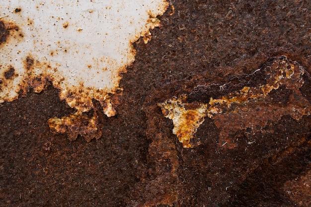 Oude roestige metalen oppervlak close-up