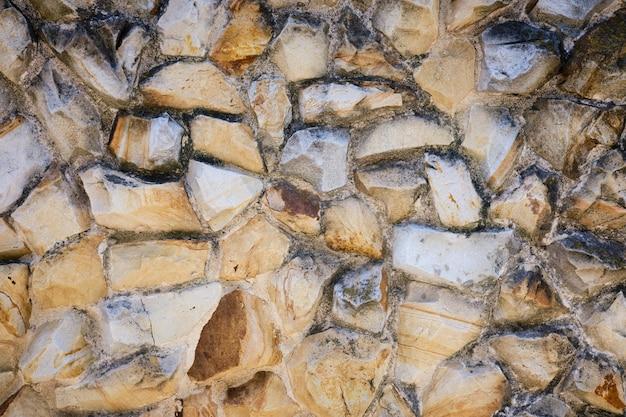 Oude rots stenen muur textuur