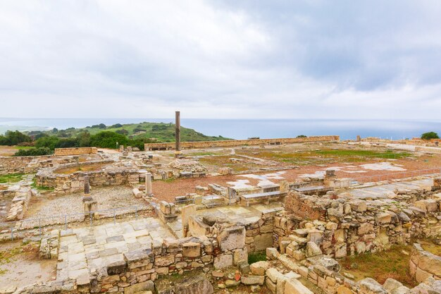 Oude ruïnes. cyprus