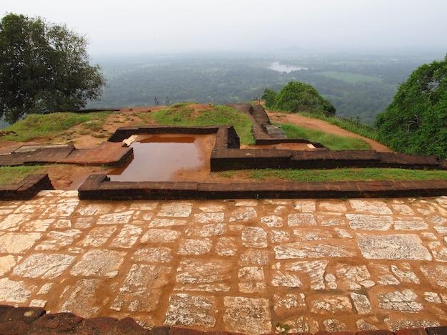 Oude ruïnes van sigiriya, sri lanka
