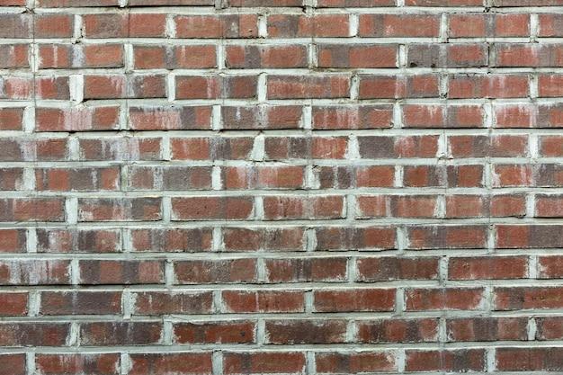 Oude rustieke bakstenen muur achtergrond