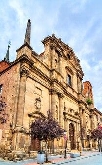 Oude santa maria-kerk in alcala de henares bij madrid, spanje madrid
