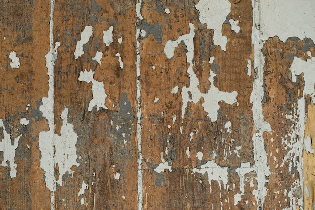 Oude, schrale plank