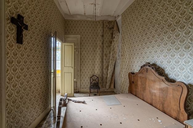 Oude slaapkamer