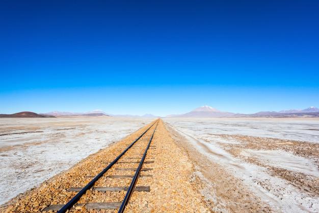 Oude spoorweg, bolivia