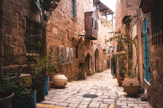 Oude stad jaffa, tel aviv - israël
