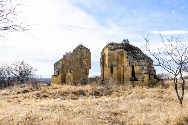Oude stad samshvilde ruïnes