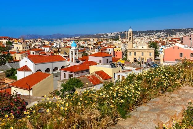 Oude stad van chania, kreta, griekenland