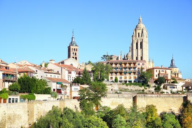 Oude stad van segovia, spanje