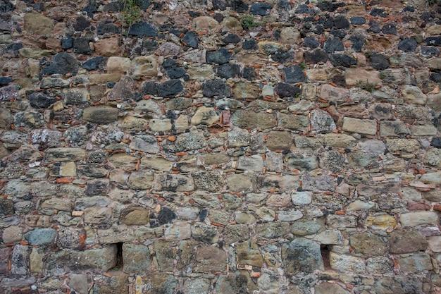 Oude stenen muur textuur achtergrond
