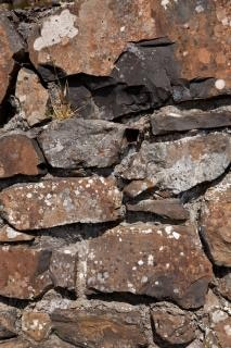 Oude stenen muur textuur bruine