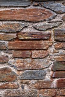 Oude stenen muur textuur hdr foto