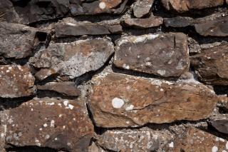 Oude stenen muur textuur leeftijd
