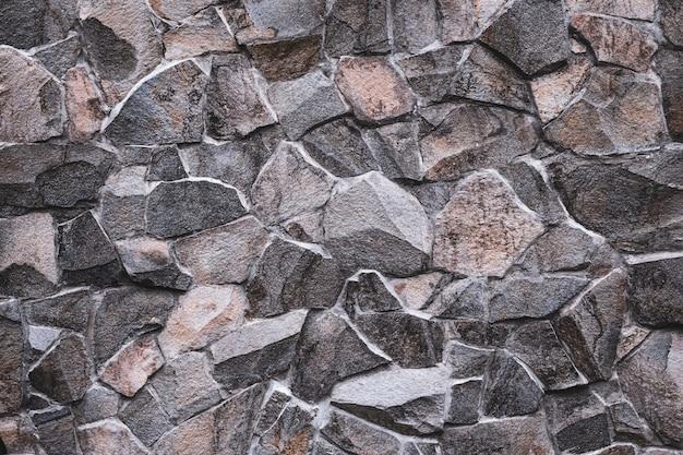 Oude stenen muur van stenen in abstracte stijl. grunge achtergrond. marmeren textuur. abstracte retro kunst. baksteen achtergrond.