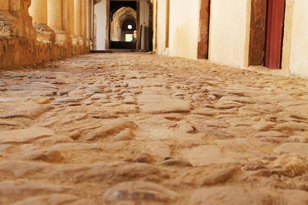 Oude stenen weg