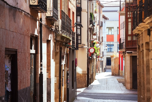 Oude straat in logrono