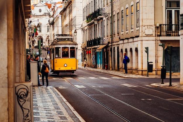 Oude straat mysterie traditionele dag