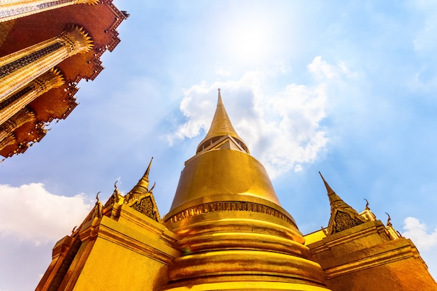 Oude tempel in thailand