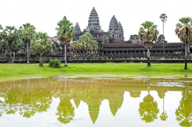 Oude tempel van angkor wat