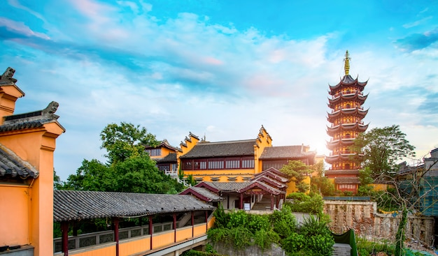 Oude tempels in nanjing