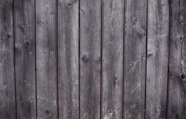 Oude textuur van houten planken met natuurlijke patronen en knopen