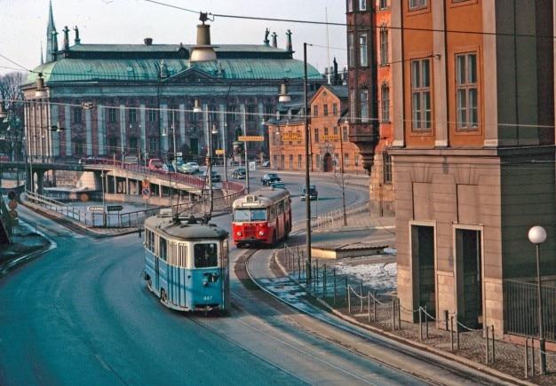 Oude trams