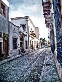 Oude typische straat