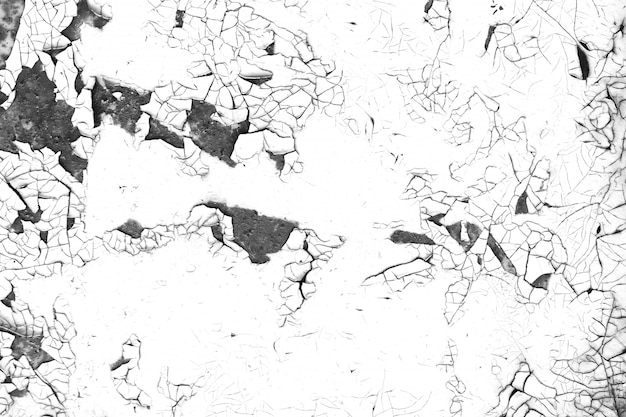 Oude verf grunge contrast zwart-witte textuur