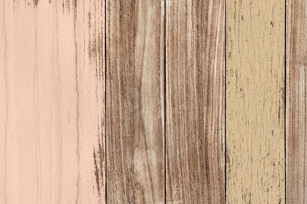 Oude verf op houten vloer