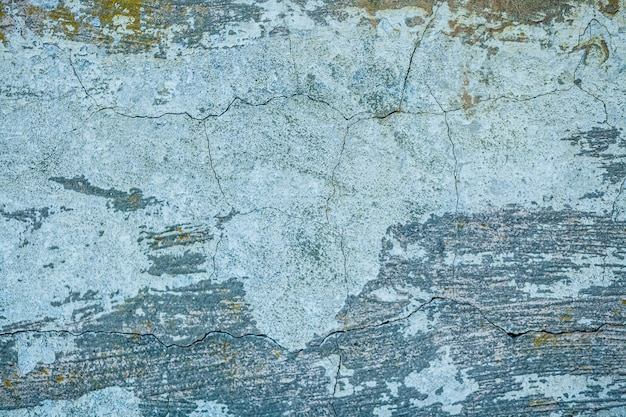 Oude verfschil van de achtergrond van de muurtextuur