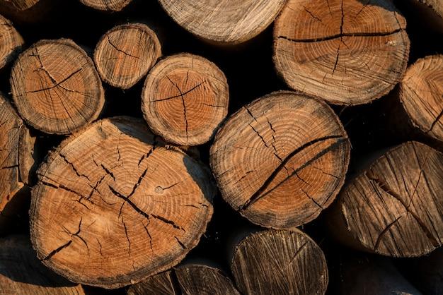 Oude verweerde houtstructuur