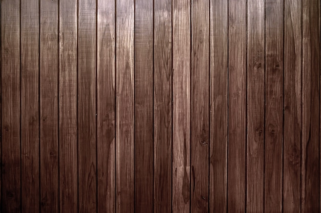 Oude vintage bruine houten latwandbekleding