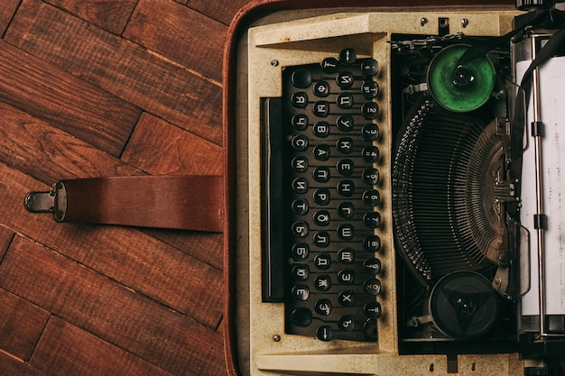 Oude vintage typemachine