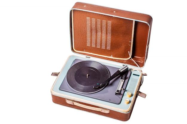 Oude vinylspeler