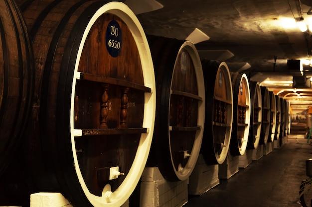 Oude wijnmakerij op de krim.