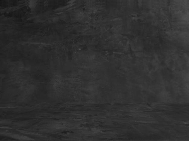 Oude zwarte achtergrond grunge textuur donker behang schoolbord schoolbord beton