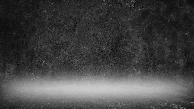 Oude zwarte achtergrond. grungetextuur. donker behang. schoolbord schoolbord beton.