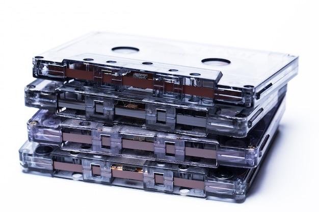 Ouderwetse magnetische audioband