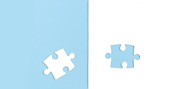 Out of the box denken en teambuilding concept. plat leggen, ruimte kopiëren